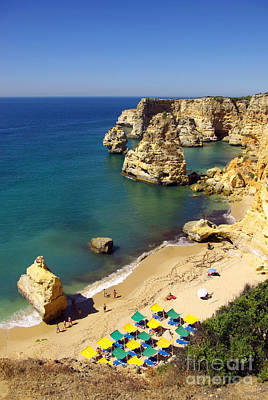 Pleasure Photograph - Marinha Beach by Carlos Caetano