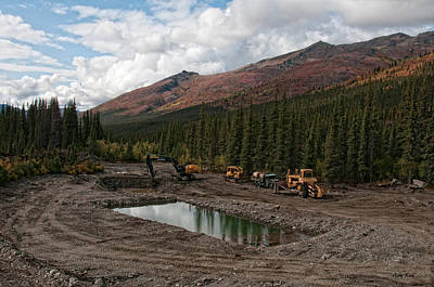 Photograph - Marion Creek Mine by Gary Rose