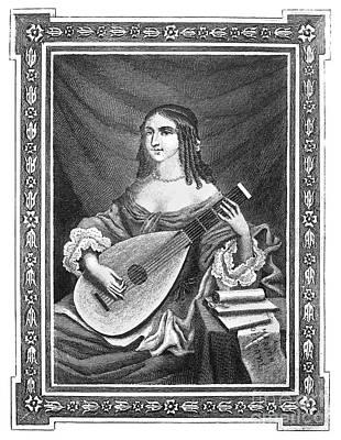 Marion Delorme (c1613-1650) Art Print by Granger