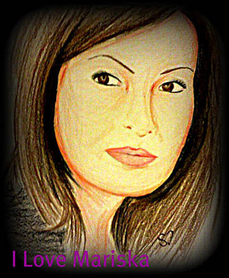 Mariska  Art Print by Shreena Dew