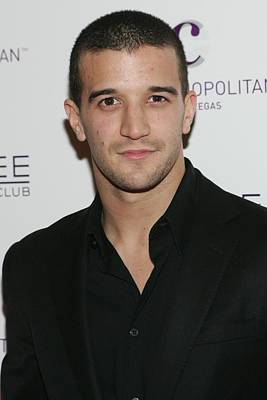 Kim Kardashian Photograph - Mark Ballas At Arrivals For Kim by Everett