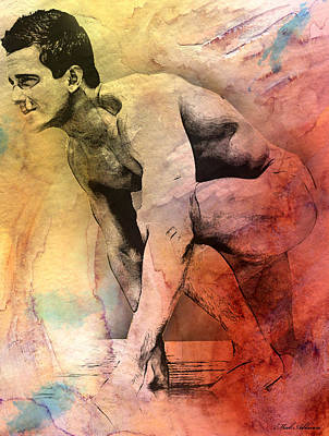 Nudity Mixed Media - Mark by Mark Ashkenazi