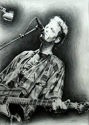 Drawing - Mark Sandman by Michael Morgan