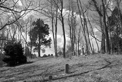 Grave Yards Photograph - Markers by Betsy Knapp