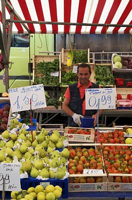 Photograph - Market Man by Cheri Randolph