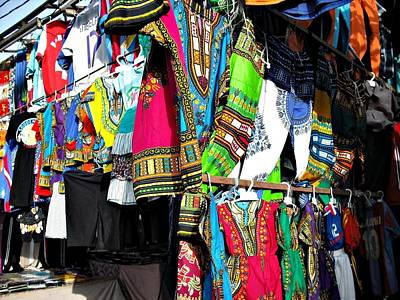 Photograph - Market Of Djibuti With More Colors by Jenny Senra Pampin