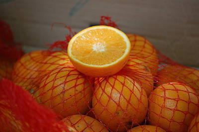 Market Oranges Art Print by Dickon Thompson