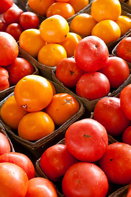 Market Tomatoes Art Print by Lauri Novak