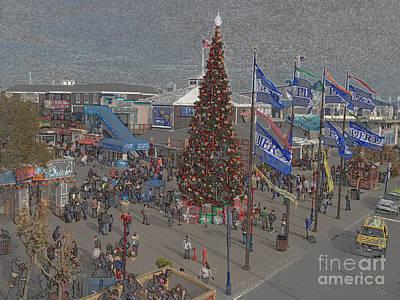Pier Digital Art - Marketing Tree by Ron Bissett