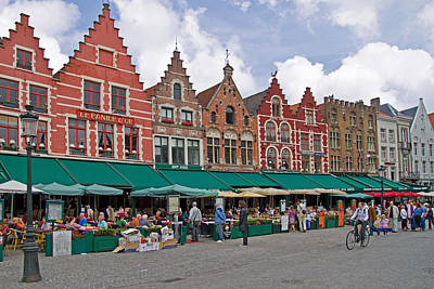 Photograph - Markt Square by David Freuthal