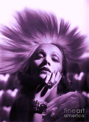 Photograph - Marlene Dietrich by Roberto Prusso