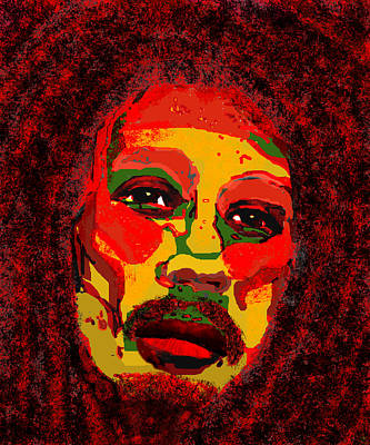 Rhythm And Blues Digital Art - Marley by Peri Craig