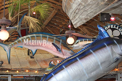 Photograph - Marlin Bar by Deborah Hughes