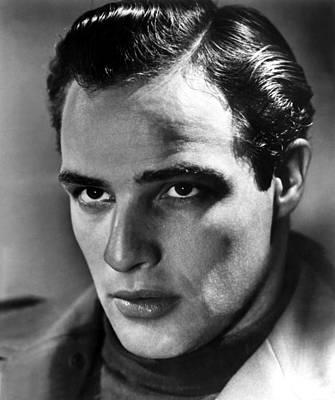 1950s Portraits Photograph - Marlon Brando, 1950s by Everett