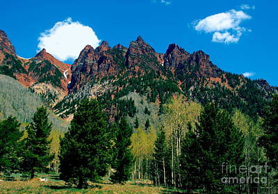 Photograph - Maroon Bells II by Christine S Zipps