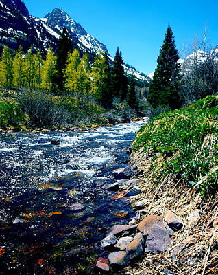 Photograph - Maroon Bells V by Christine S Zipps