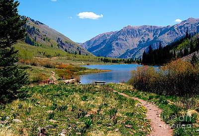 Photograph - Maroon Bells Viii by Christine S Zipps