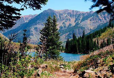 Photograph - Maroon Bells Xiii by Christine S Zipps