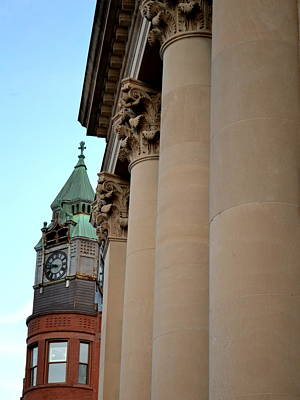 Photograph - Marquette Architecture by Michelle Calkins
