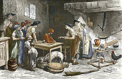 Marquis De Condorcet's Last Meal Art Print