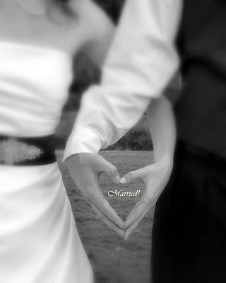Photograph - Married by Cindy Wright