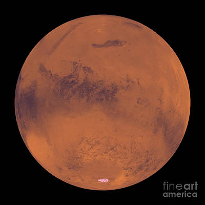 Photograph - Mars by Stocktrek Images