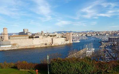 Marseille Vieux Port Art Print