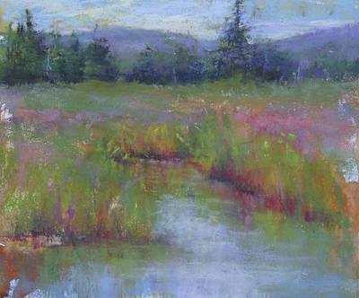 Marsh Colors Art Print
