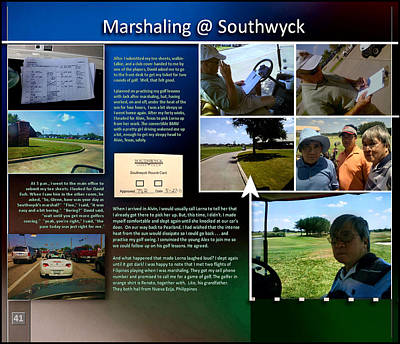 Digital Art - Marshaling At Southwyck P41 by Glenn Bautista
