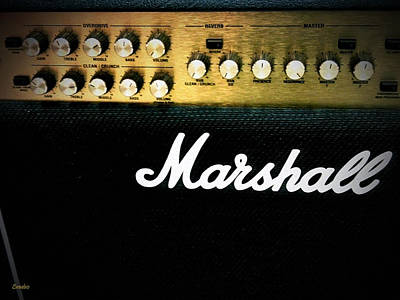 Photograph - Marshall Amplifier by Eena Bo