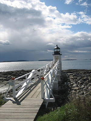 Photograph - Marshall Point Light by Debra LePage