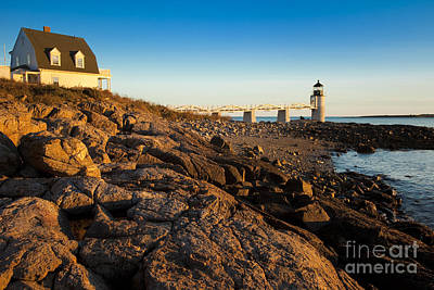 Photograph - Marshall Point Lighthouse by Brian Jannsen