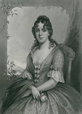 Martha Jefferson Randolph 1772-1836 Art Print by Everett