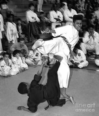 Martial Arts I Art Print by Jeff Breiman