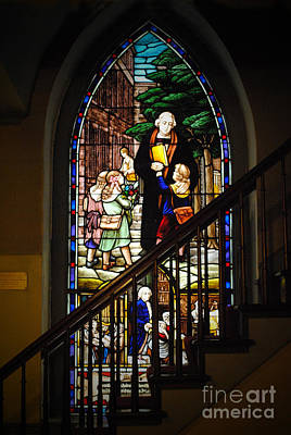 Zion Lutheran Church Photograph - Martin Luther At Historic Zion by Jost Houk