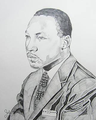 Martin Luther King Jr. Art Print by John Keaton