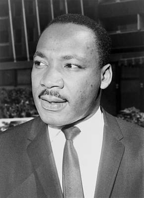 Martin Luther King, Jr., Leader Print by Everett