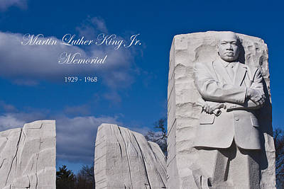 Martin Luther King Jr Memorial Original by Theodore Jones