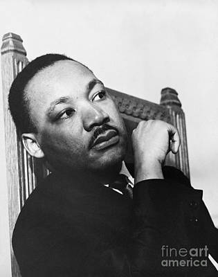 Martin Luther King, Jr Art Print by Photo Researchers