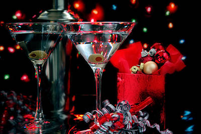 Martini Royalty-Free and Rights-Managed Images - Martini Cocktail by Darren Fisher