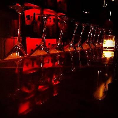 Martini Photograph - Martini Time! #drinks #martinis #bars by David Sabat