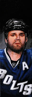 Marty Painting - Marty St. Louis by Marlon Huynh