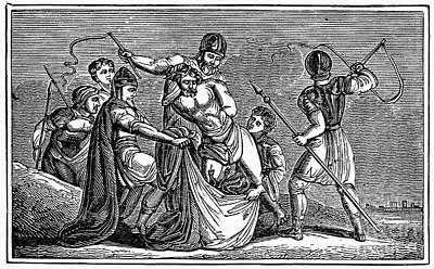 Martyrdom: Saint Julian Art Print by Granger