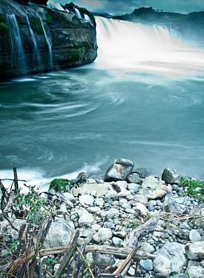 Photograph - Maruia Falls 3 by Jonathan Hansen