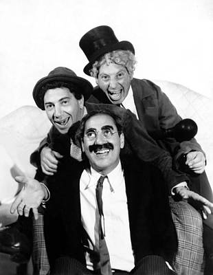 Marx Brothers, The Chico, Groucho Art Print by Everett
