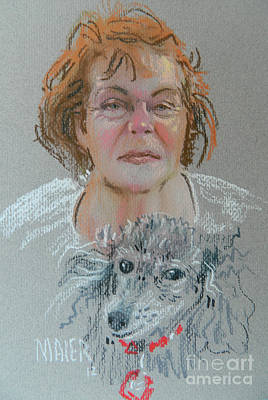 Painting - Mary Anne by Donald Maier