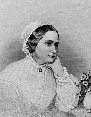 Custis Photograph - Mary Custis Lee (1806-1873) by Granger