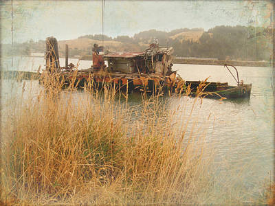 Photograph - Mary D Hume Shipwreck Gold Beach by Cindy Wright