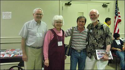 Photograph - Mary Ellen W Friends 2009 by Glenn Bautista