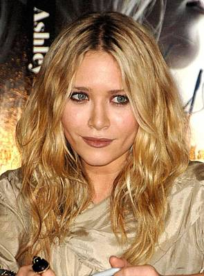 Dark Roots Photograph - Mary-kate Olsen At In-store Appearance by Everett